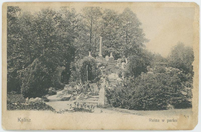 Ruina w parku, Kalisz