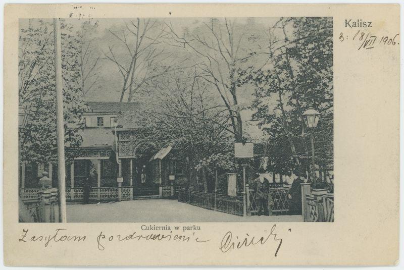 Cukiernia w parku, Kalisz