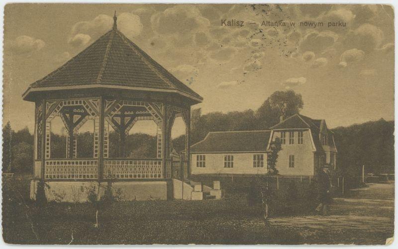 Altanka w nowym parku, Kalisz