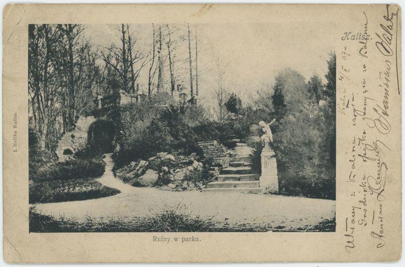 Ruiny w parku, Kalisz
