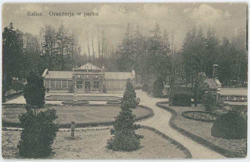Oranźerja w parku, Kalisz