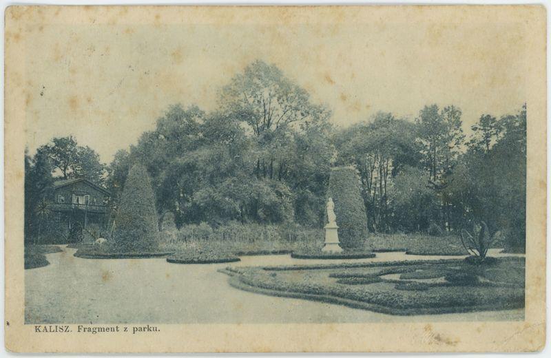 Fragment z parku, Kalisz