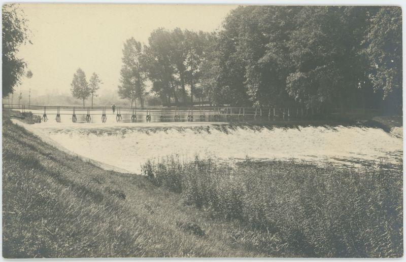 Wodospad w kaliskim parku