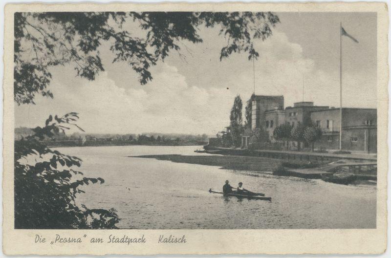 "Die ""Prosna"" am Stadtpark, Kalisz"
