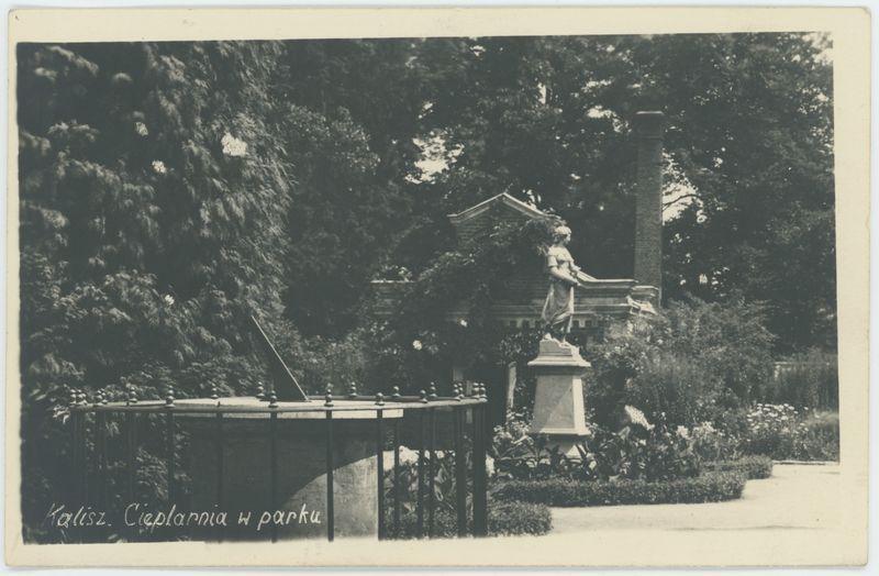 Cieplarnia w parku, Kalisz