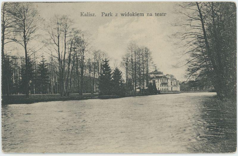 Park z widokiem na teatr, Kalisz