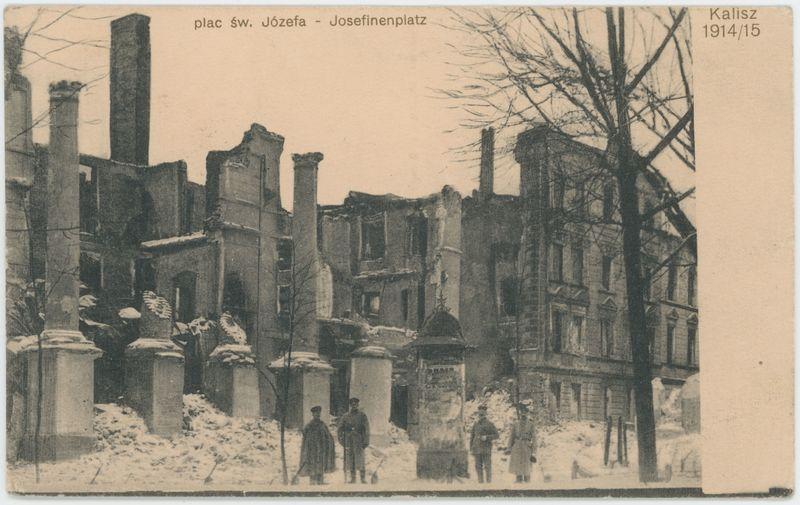 Plac św. Józefa, Kalisz 1914/15