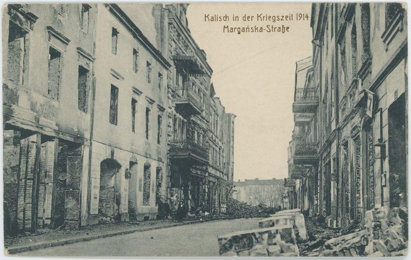 Kalisch in der Kriegszeit 1914