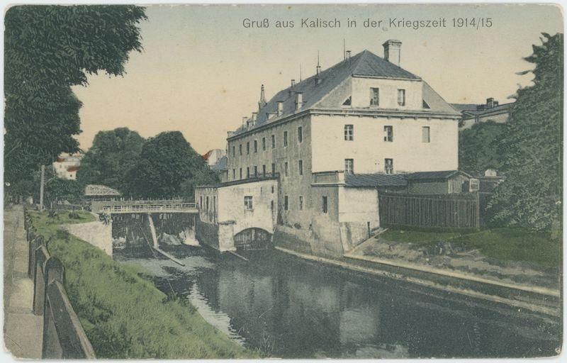 Gruß aus Kalisch in der Kriegszeit 1914/15
