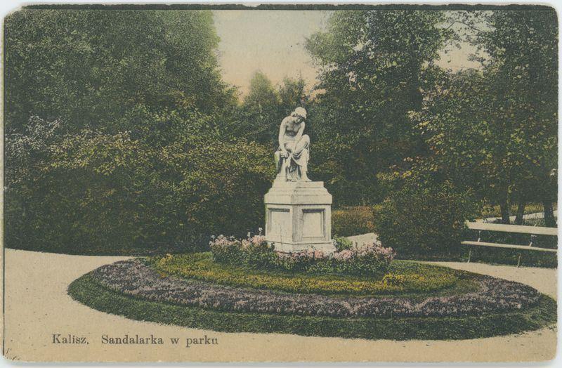 Sandalarka w parku, Kalisz