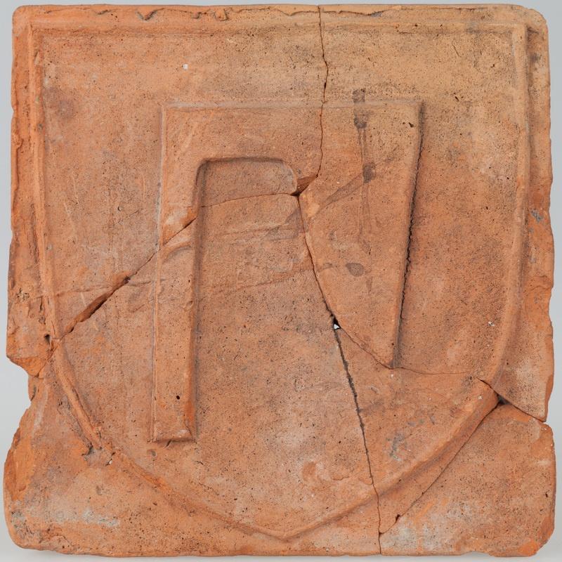 Kafel z herbem Topór