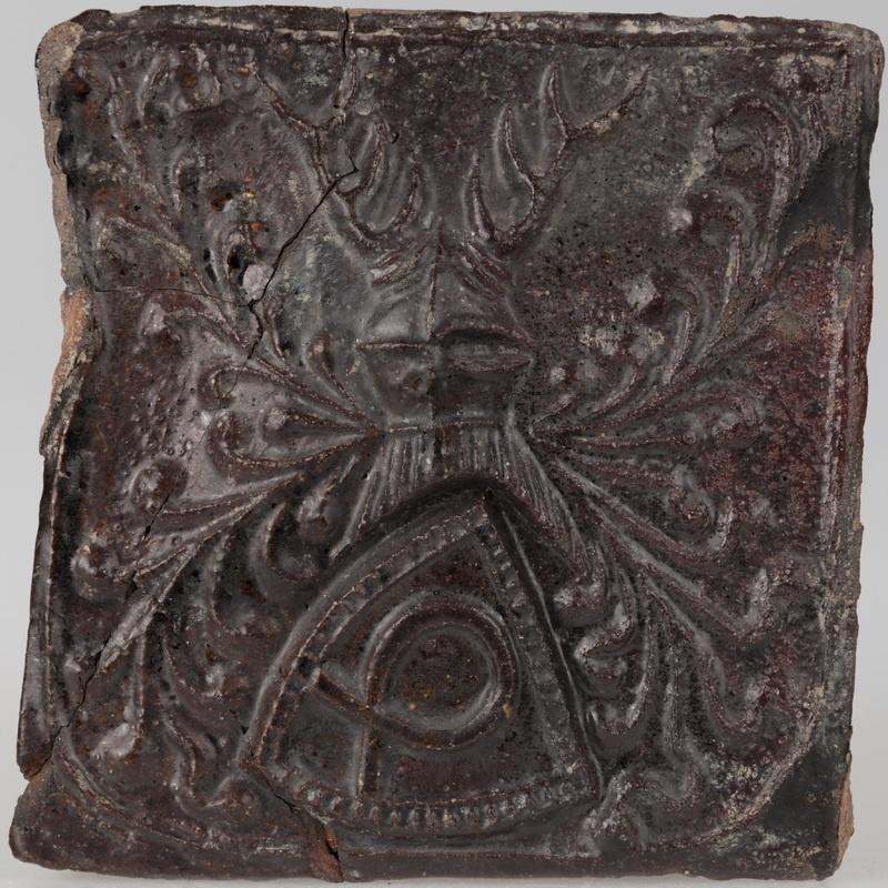 Kafel z herbem Nałęcz