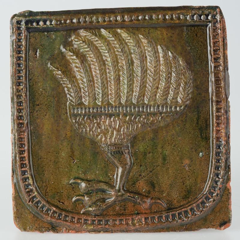 Kafel z herbem Kopacz