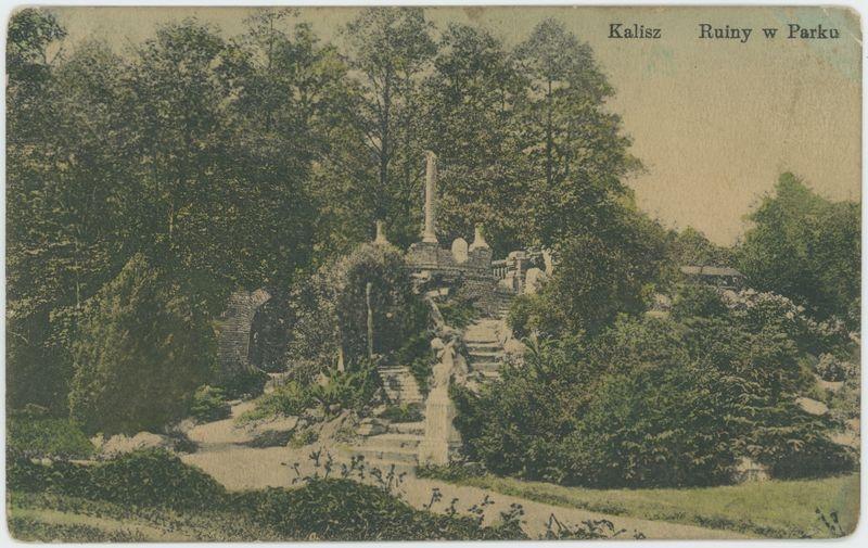 Kalisz Ruiny w Parku