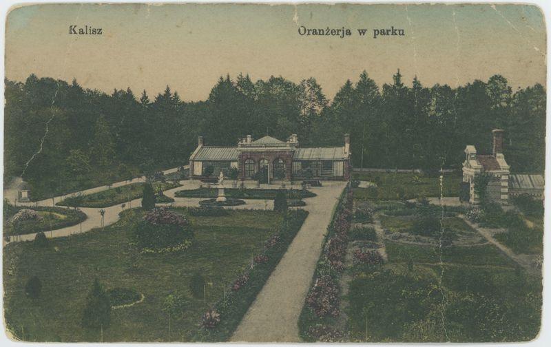 Kalisz Oranżerja w parku