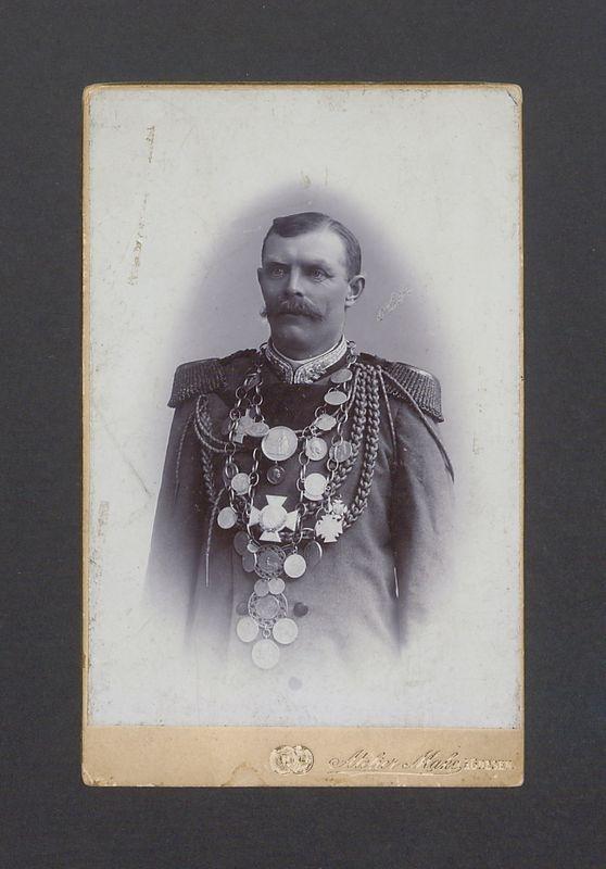 Stanisław Mojecki, król Bractwa Kurkowego z 1906 r.