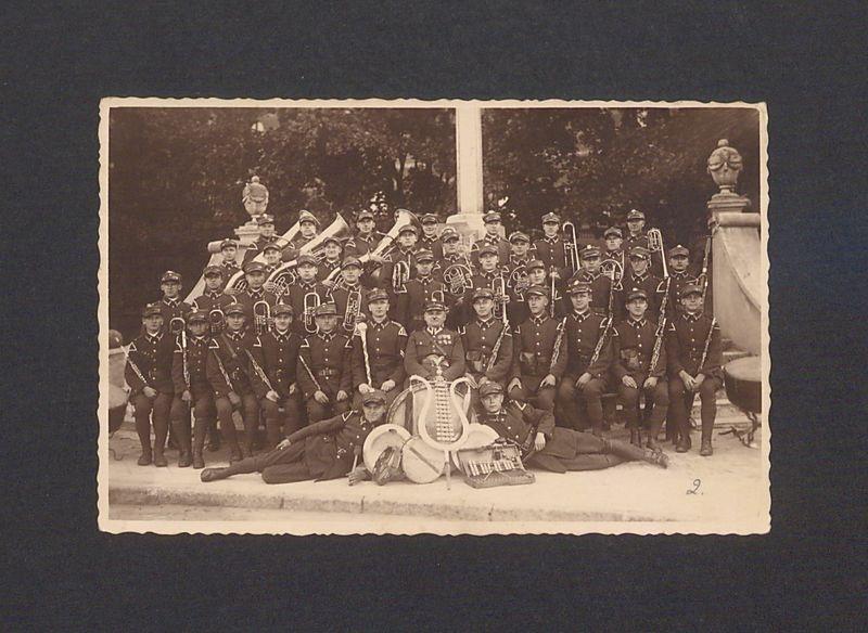 Orkiestra wojskowa 69 Pułku Piechoty w Gnieźnie.