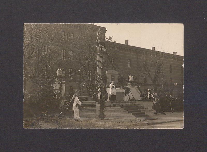 Święto pułkowe 69 Pułku Piechoty, dnia 11-11-1928 r. Kazanie.