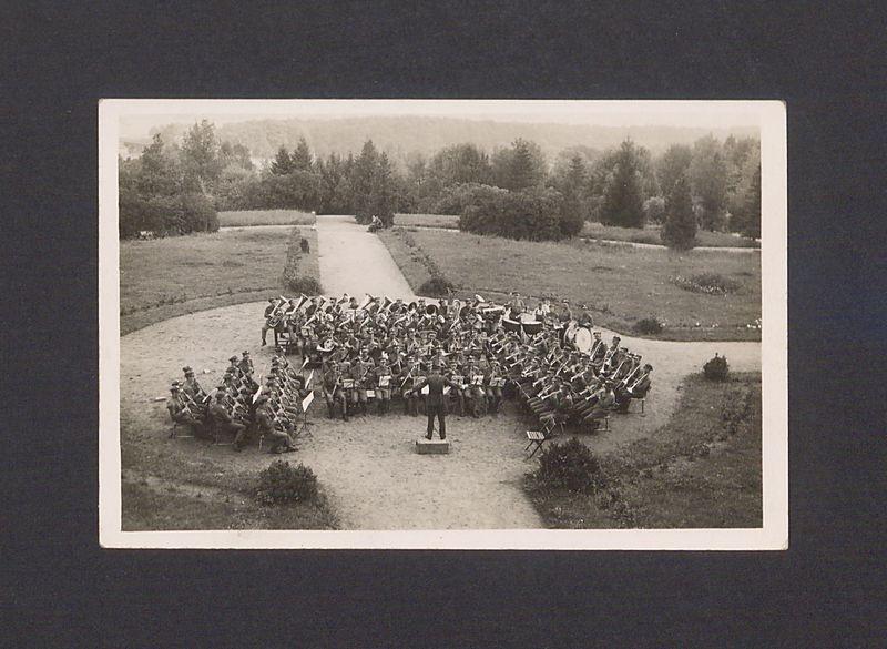 Orkiestra 17 Wielkopolskiej Dywizji Piechoty w Biedrusku.