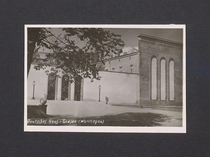 Gmach Teatru im. Aleksandra Fredry w Gnieźnie.