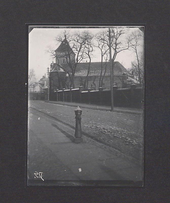 Szklane negatywy Dionizego Scholtza. Kościół pw. św. Wawrzyńca.