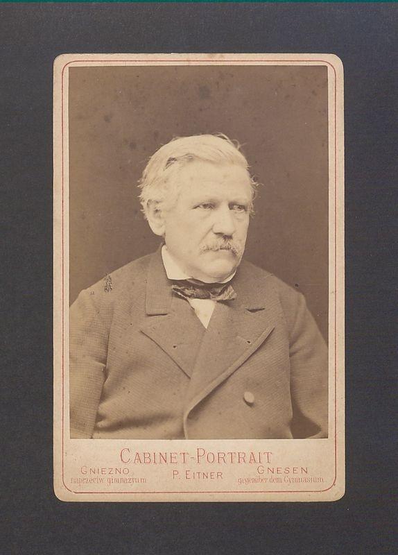 Jan Bernard Lange (1817-1881), drukarz i księgarz.