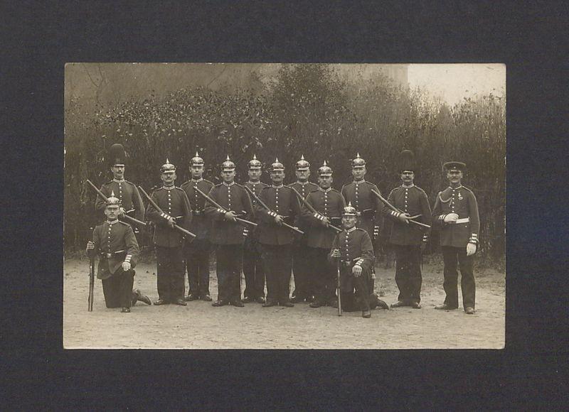 Żołnierze pruscy.