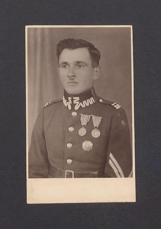 Jan Bauer, kapelmistrz orkiestry wojskowej 69 Pułku Piechoty.