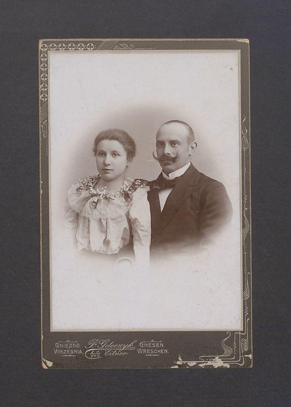Portret Wiktorii i Seweryna Scholtzów.