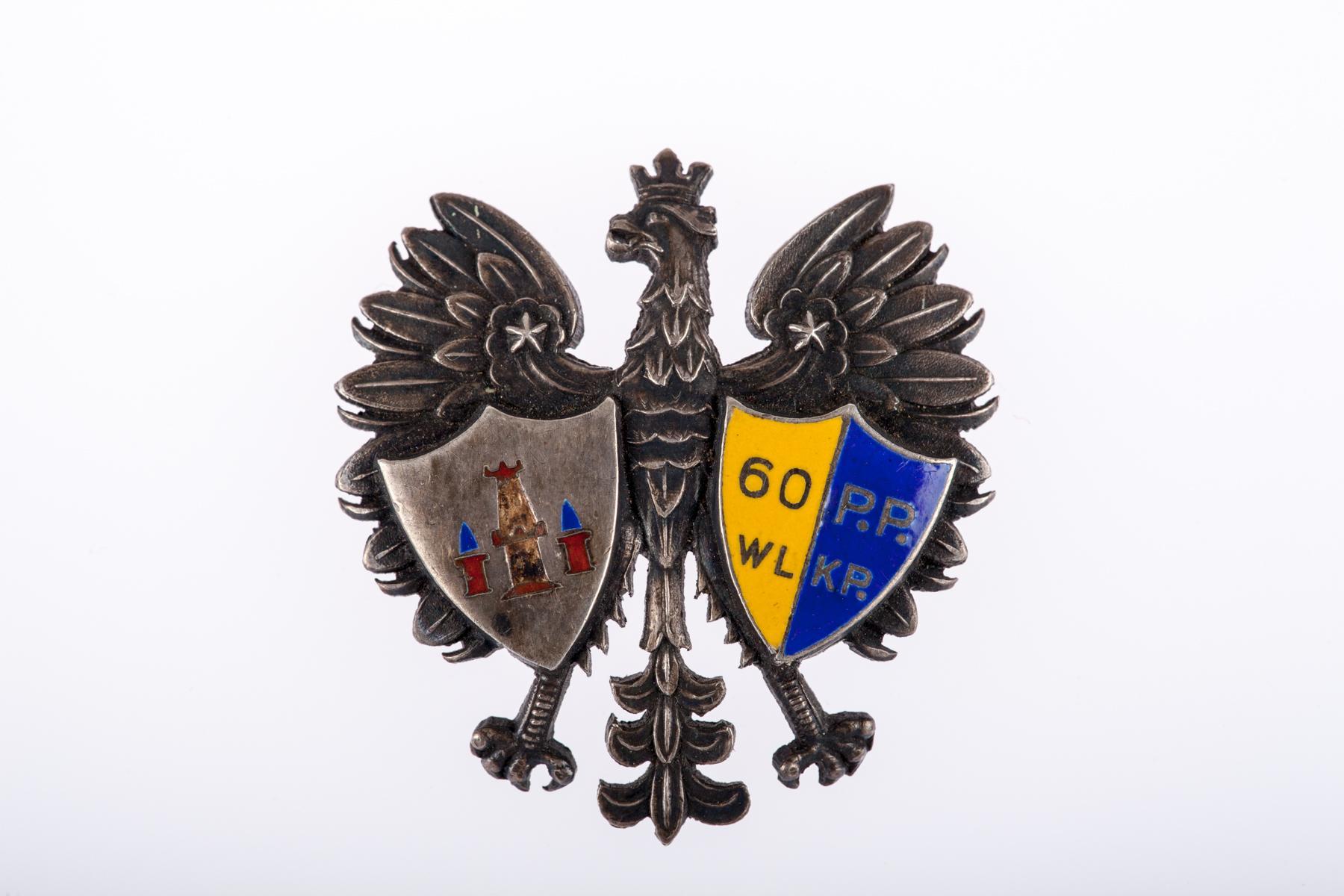 Odznaka 60. Pułku Piechoty Wielkopolskiej