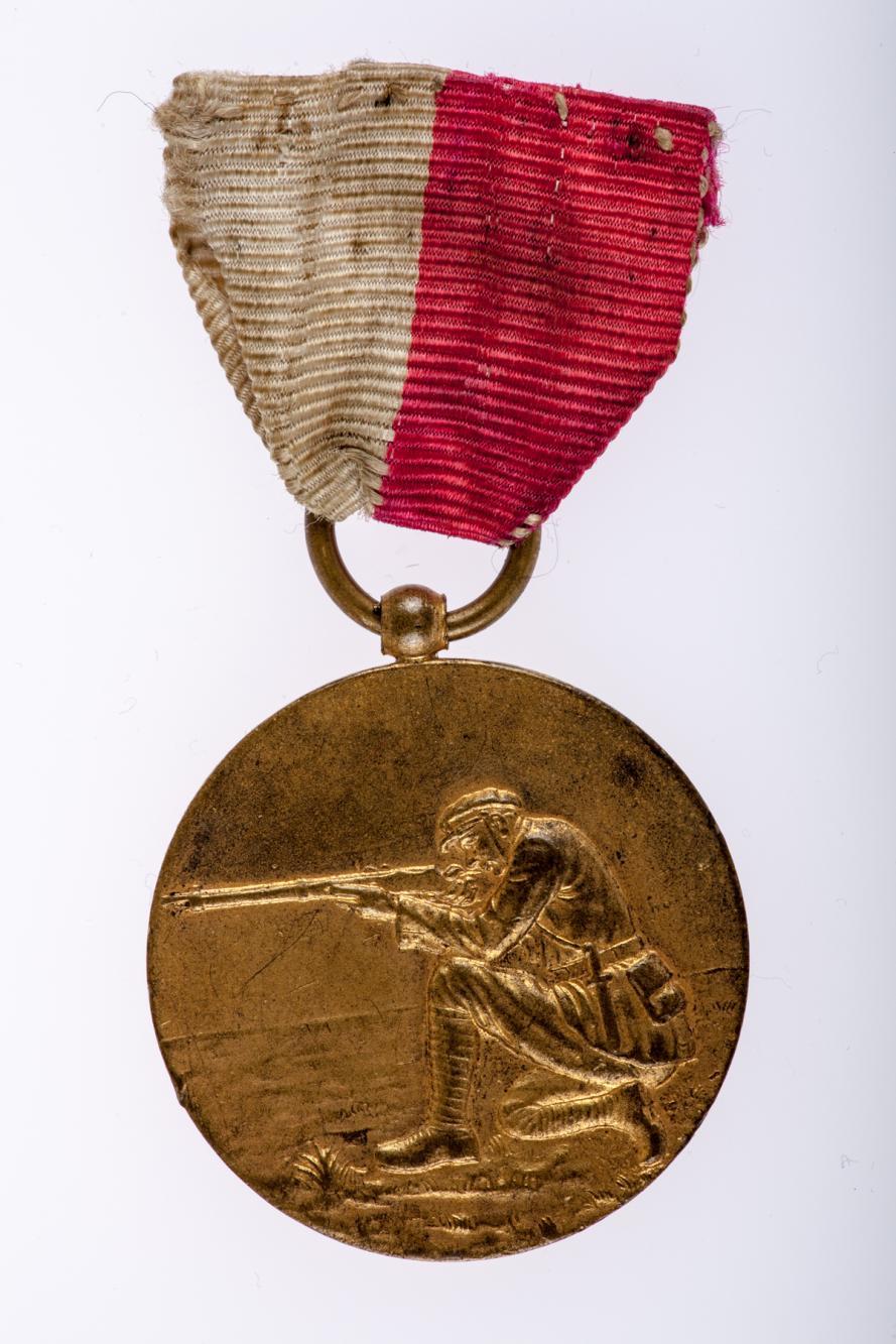Medal z zawodów strzeleckich w Kępnie