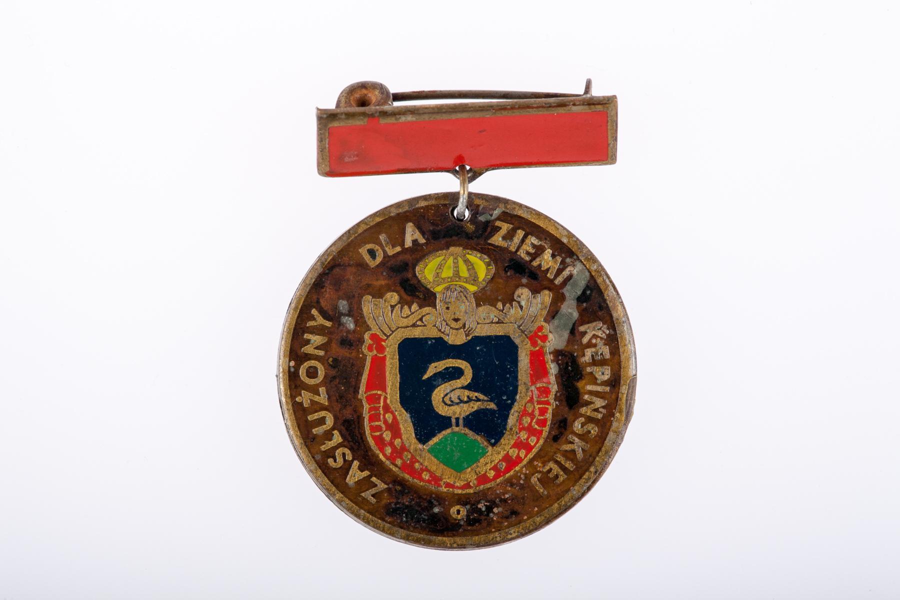 """Medal """"Zasłużony dla Ziemi Kępińskiej"""""""