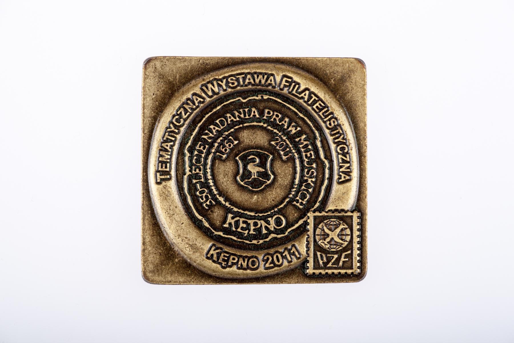 Medal na 350-lecie lokacji Kępna
