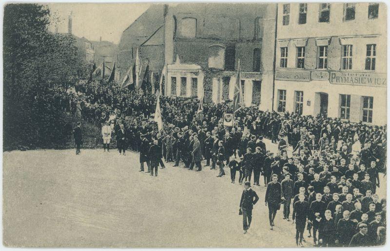 125-ta Rocznica Konstytucyi 3-go Maja w Kaliszu