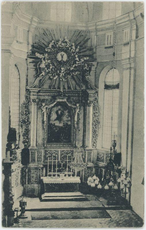 Wnętrze kościoła ewangelickiego, Kalisz