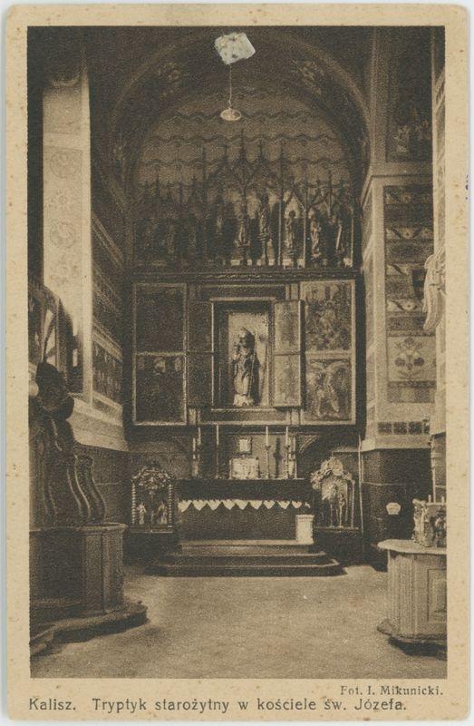 Tryptyk starożytny w kościele św. Józefa, Kalisz