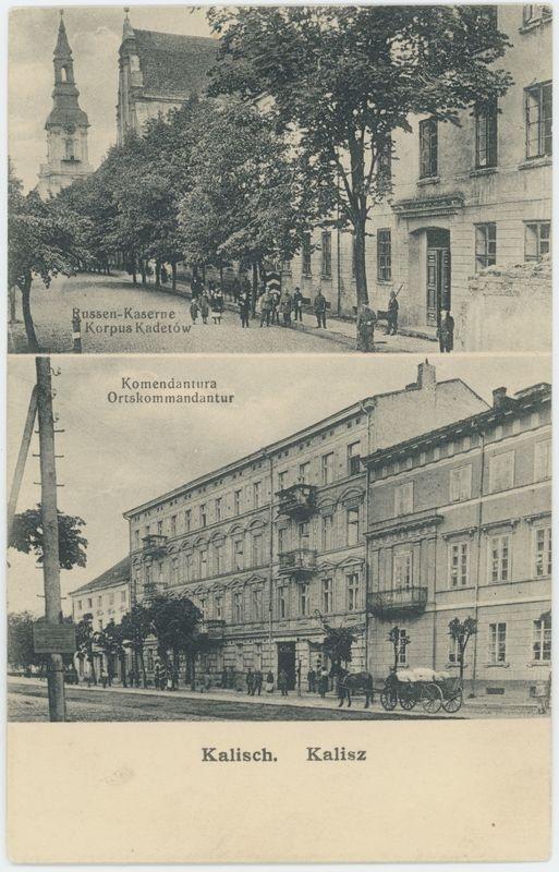 Korpus Kadetów, Komendantura, Kalisz