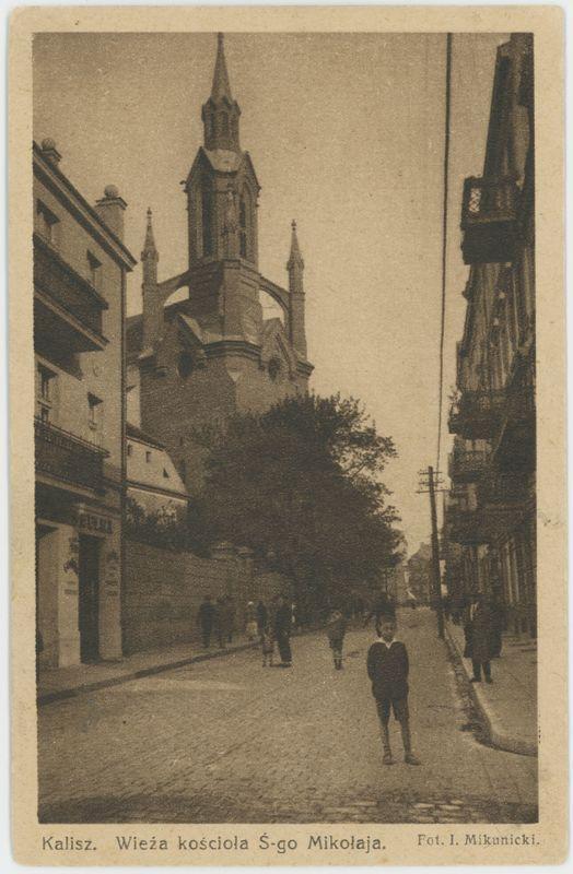 Wieża kościoła Ś-go Mikołaja, Kalisz