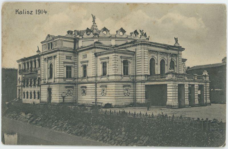 Teatr, Kalisz 1914