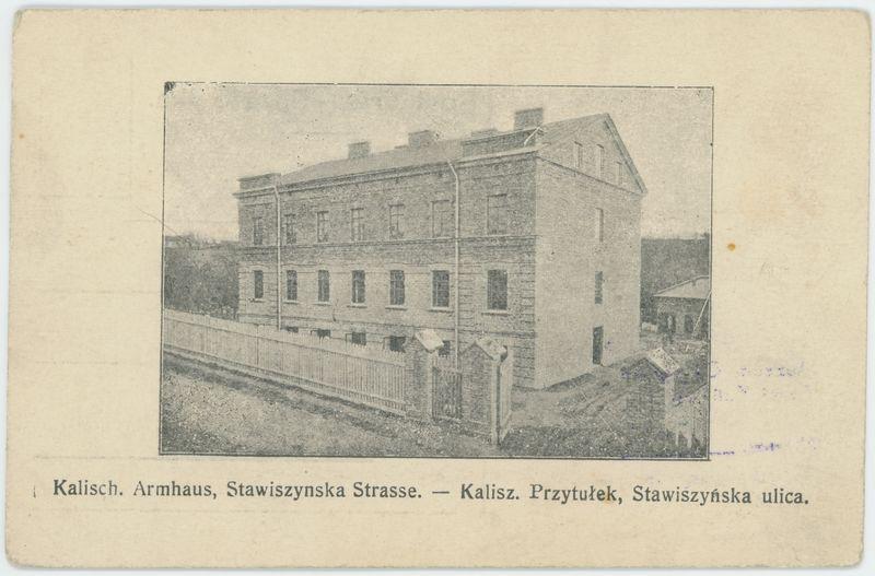 Przytułek, ulica Stawiszyńska, Kalisz