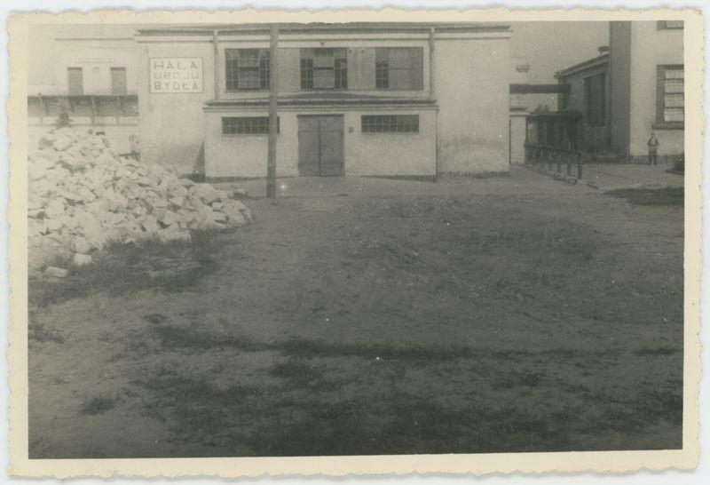 Rozbiórka schronu przy starej rzeźni miejskiej w Kaliszu