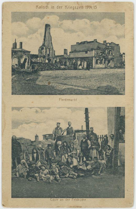 Pferdemarkt, Kalisch in der Kriegszeit 1914/15