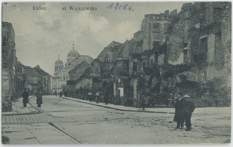 Ulica Warszawska, Kalisz