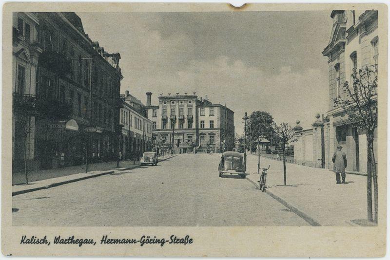 Warthegau Hermann Göring Str., Kalisz