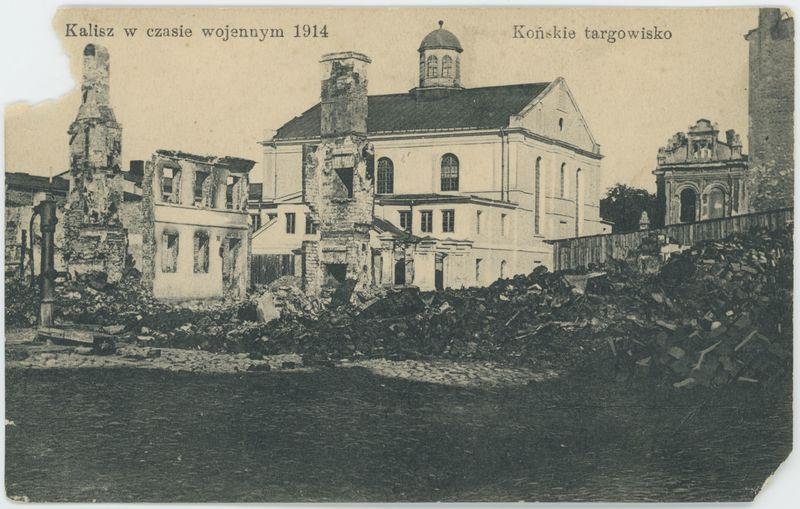 Końskie targowisko, Kalisz w czasie wojennym