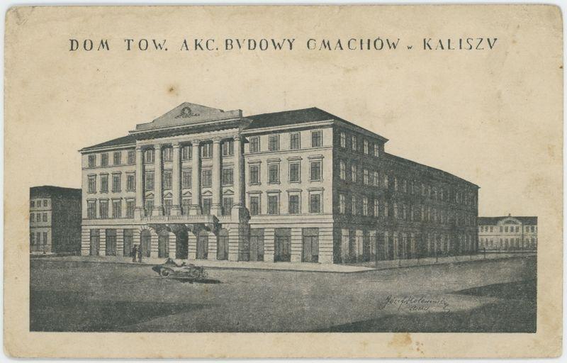 Dom Tow. Akc. Budowy Gmachów w Kaliszu