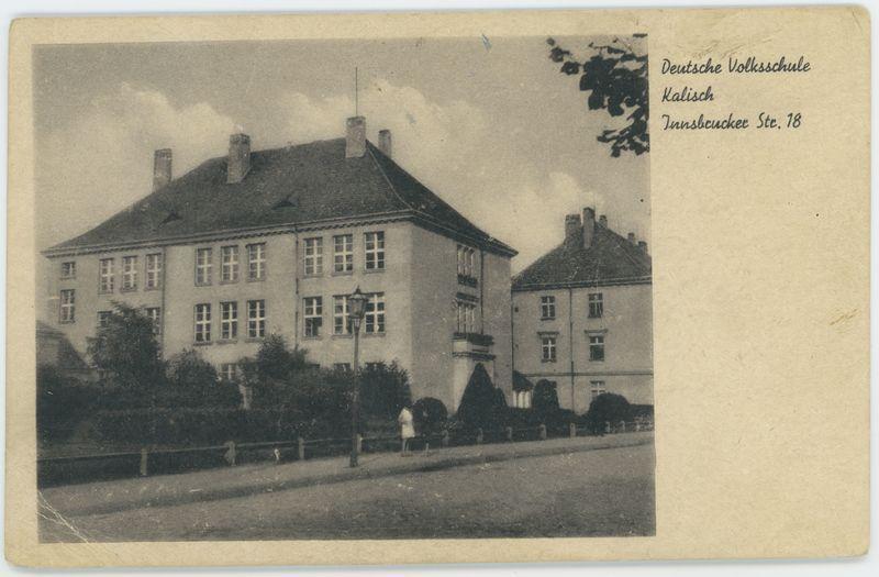 Kalisch, Deutsche Volksschule