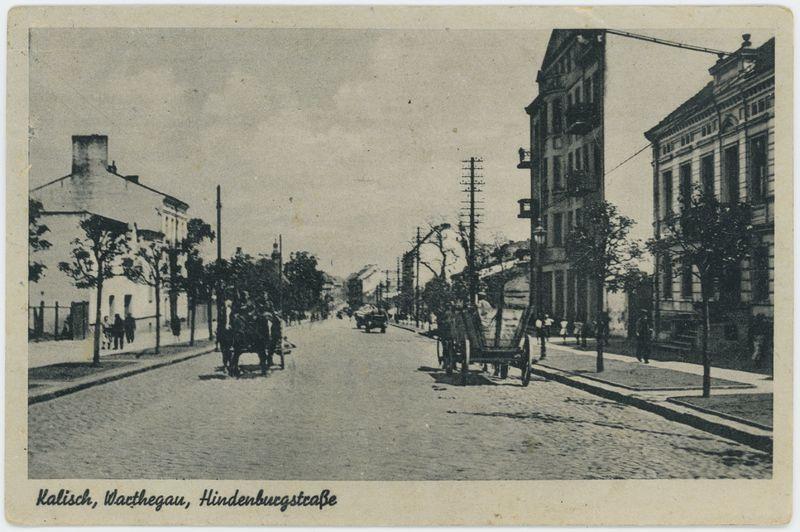 Hindenburgstrasse, Warthegau, Kalisch