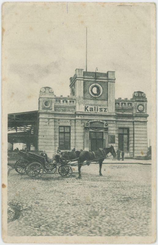 Dworzec kolejowy w Kaliszu