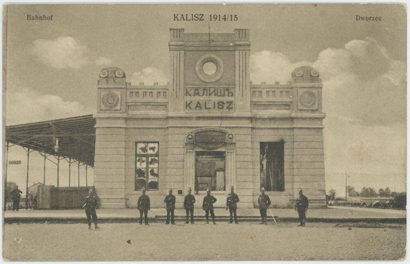 Dworzec, Kalisz 1914/15